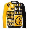 Pittsburgh Steelers Busy Block Ugly Sweater