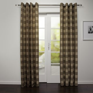Capri Collection Grommet-top 88-inch Curtain Panel