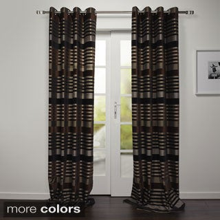 Paris Collection Grommet top 95-inch Curtain Panel Pair
