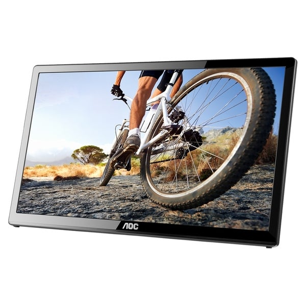 "AOC E1759FWU 17.3"" USB Portable LED LCD Monitor - 16:9 - 10ms - USB 3"