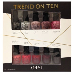 OPI Trend On Ten 10-piece Mini Nail Polish Kit