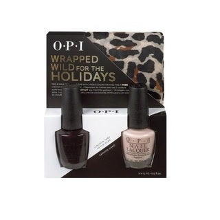OPI Wrapped Wild for the Holidays Nail Polish Duo #3 with Scarf