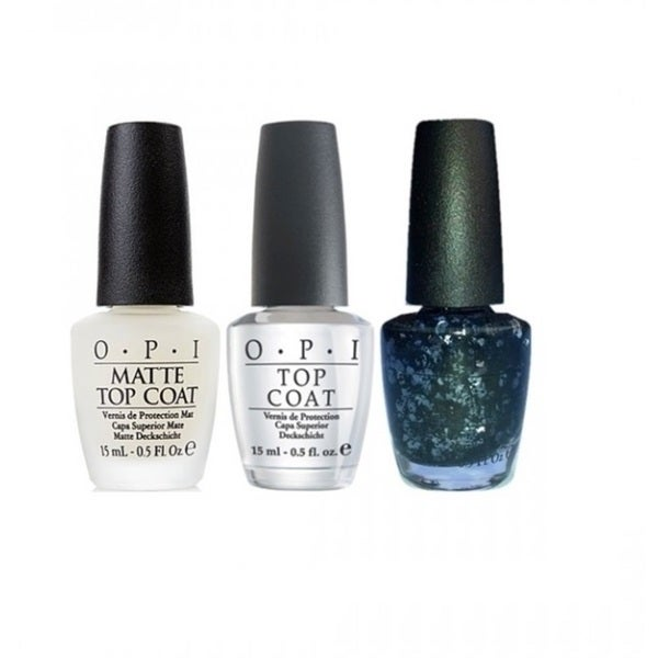OPI 3-piece Sheer To The Top Top Coat Kit