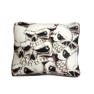 Dogzzzz Skulls Medium Rectangular Dog Bed