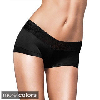 Maidenform Cheeky Scalloped Lace Hipster Panties