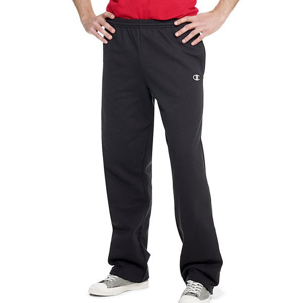 Champion Men's Eco Fleece Open Hem Sweatpants