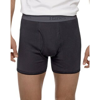 Hanes Men's Tagless Ultimate X-Temp Comfort Flex Boxer Briefs (3 Pack)