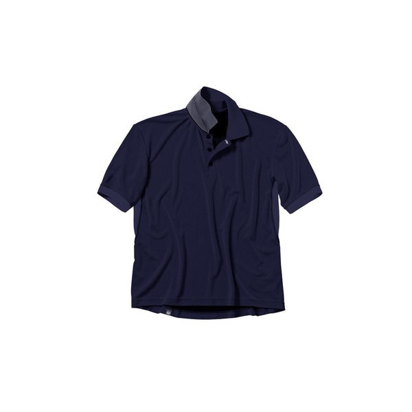 Beretta Navy Blue Bamboo Tech Polo