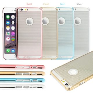"Gearonic Ultra Thin Slim Crystal Clear Back Case Cover for Apple 4.7"" iPhone 6"