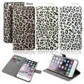 "Gearonic Card Holder Leopard Wallet Case for Apple iPhone 6 Plus 5.5"""