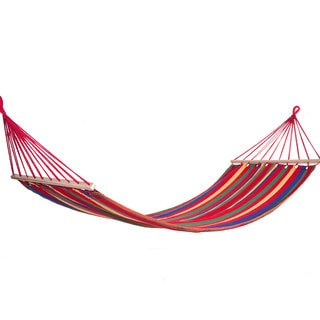 Texsport Key Largo Recycled Cotton Rainbow Stripes Hammock