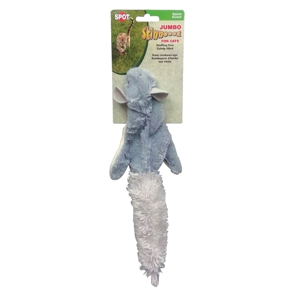 Jumbo Skinneeez For Cats-Squirrel