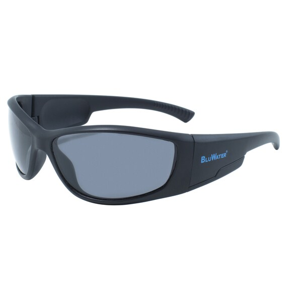 BlueWater Springboard Polarized Grey Lens Sunglasses
