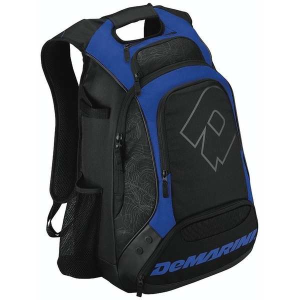 DeMarini Carrying Case (Backpack) for Helmet, Glove, Gear - Royal
