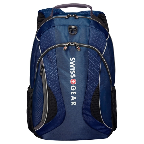 "Swissgear Carrying Case (Backpack) for 16"" Notebook - Navy, Gray"