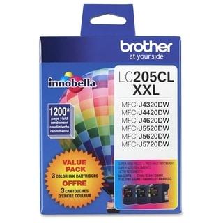 Brother Innobella LC2053PKS Ink Cartridge - Cyan, Magenta, Yellow