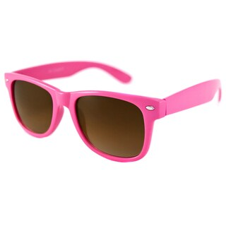 Urban Eyes Men's/ Unisex Wayfarer-Neon Rectangular Sunglasses