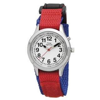 Kid's Unisex Red and Blue Talking Watch