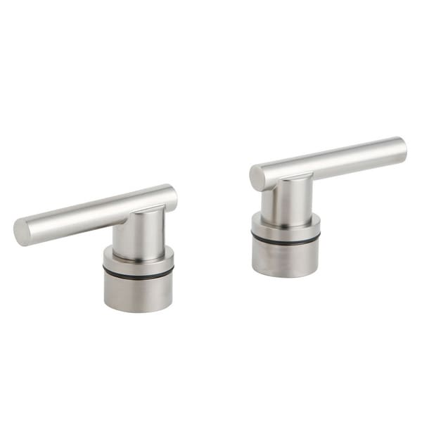Grohe Atrio Brushed Nickel Lever Handles (Pair)