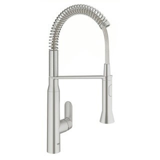 Grohe SuperSteel K7 K7 OHM Sink profi-spray Medium Kitchen Faucet