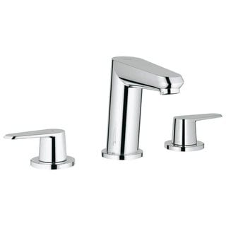 Grohe Starlight Chrome Eurodisc Cosmopolitan Wideset Lavatory Bathroom Faucet