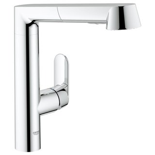 Grohe Starlight Chrome K7 K7 OHM Sink Pull-out Spray Kitchen Faucet