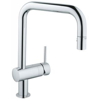 Grohe Starlight Chrome Minta Dual Pull-down Spray Kitchen Faucet