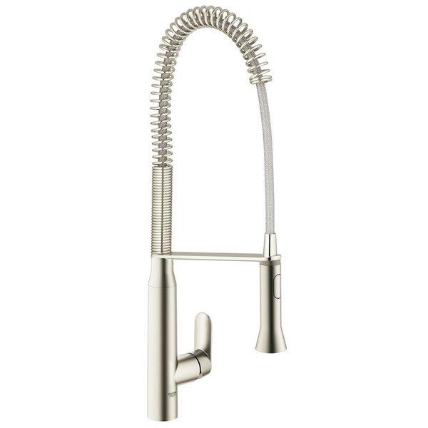 Grohe SuperSteel K7 K7 Semi-Pro Dual Spray Kitchen Faucet