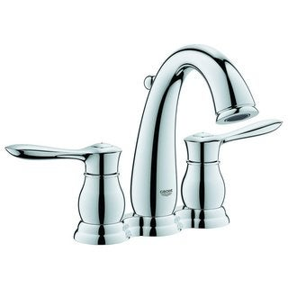 Grohe Starlight Chrome Parkfield 2-handle 4-inch Centerset Bathroom Faucet