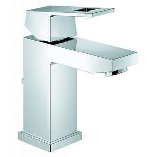 Grohe Starlight Chrome Eurocube OHM EcoJoy Bathroom Faucet