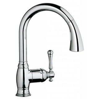 Grohe Starlight Chrome Bridgeford OHM Sink Pull-out Spray Kitchen Faucet