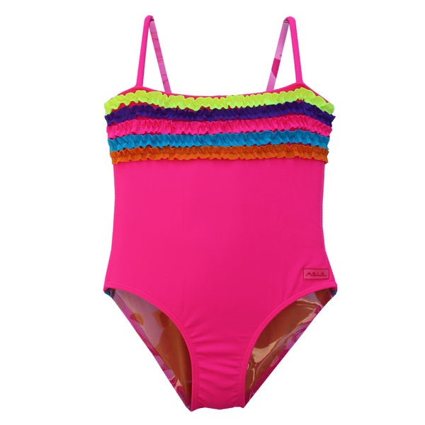 Azul Swimwear Girls 'Chasing Rainbows' One-piece Swimsuit