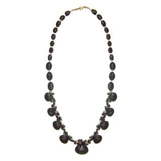 Denise James One-of-a-Kind Confetti Tourmaline and Pearl Necklace (4-4.4mm)