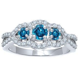14k White Gold 1/2ct TW Diamond Ring