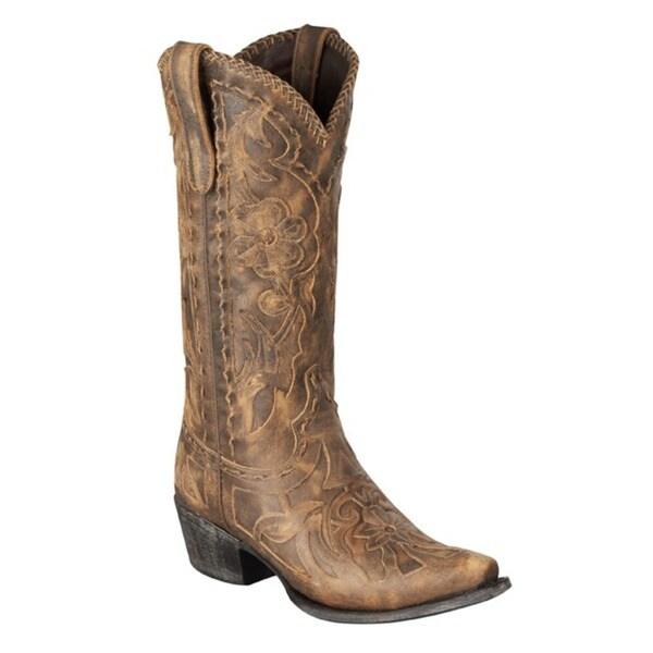 Lane Boots Women's 'Poison' Light Brown Cowboy Boots