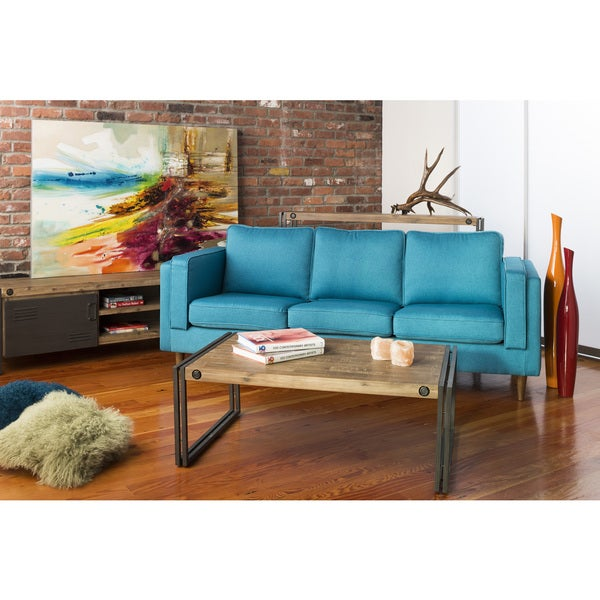 Aurelle Home Miller Lake Brown Coffee Table