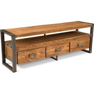 Blacksmith Distressed Wood Television Stand