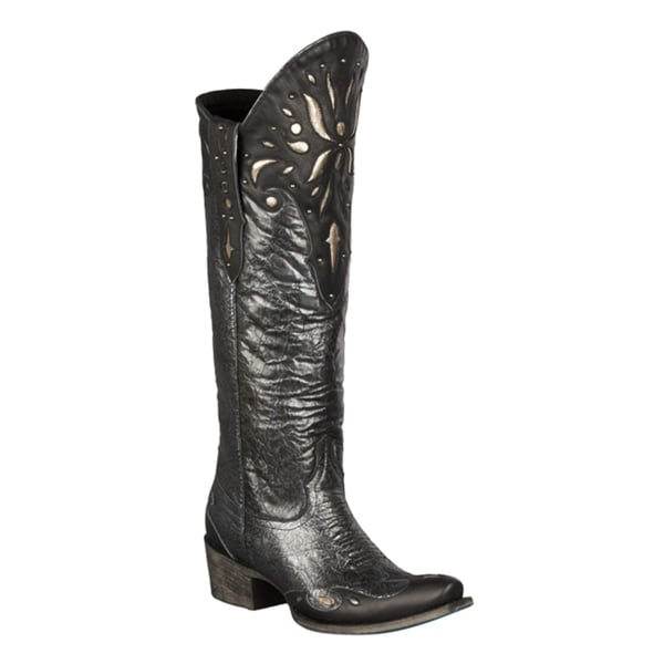 Lane Boots Women's 'Sunburst' Knee-high Cowboy Boots