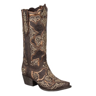 Lane Boots Women's 'Creole Lady' Mid-calf Cowboy Boots