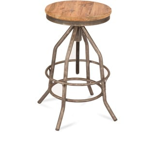 Madrid Brown Adjustable Barstool