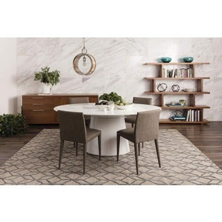 Aurelle Home Hausen Oval Dining Table