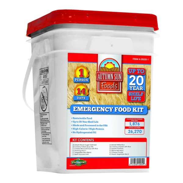 Autumn Sun 1-person 14-day Emergency Food Kit