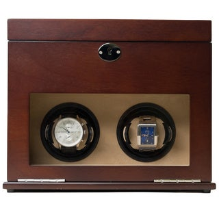 Hives and Honey Colton Double Watch Winder and Valet Box