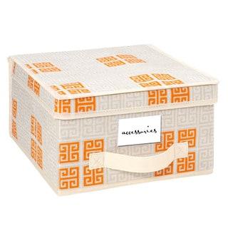 SedaFrance Medium Cameo Key Cream Storage Box