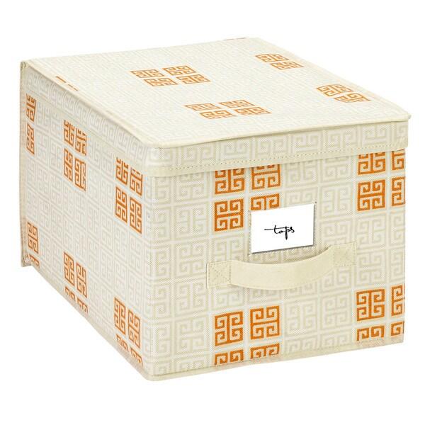 SedaFrance Large Cameo Key Cream Storage Box