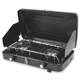 Stansport 2-burner Regulated Propane Stove