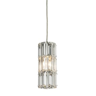 Elk Lighting1-light Round Polished Chrome Mini Pendant