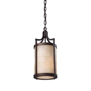 Elk Lighting Spanish Mosaic 1-light Aged Bronze Pendant