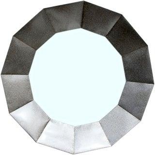 Aurelle Home Silver Wall Mirror