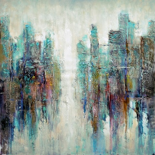 'The Opening' Abstract Acrylic Canvas Art